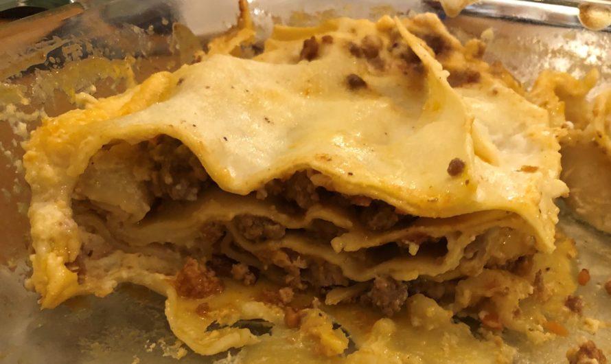 Luccan Lasagne (with béchamel sauce)